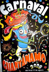 Cartel Carnaval Guantánamo 2008