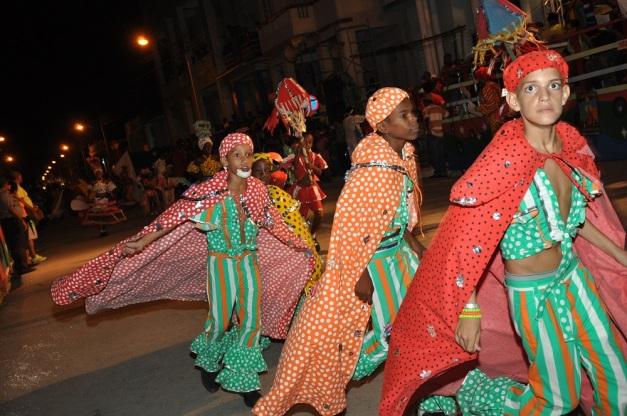 carnaval infantil Guantánamo 2014